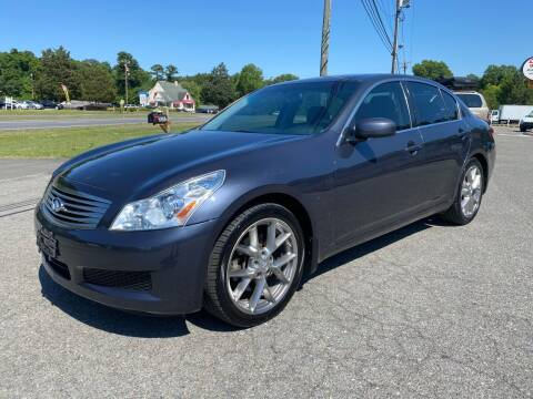 2008 Infiniti G35 for sale at CVC AUTO SALES in Durham NC