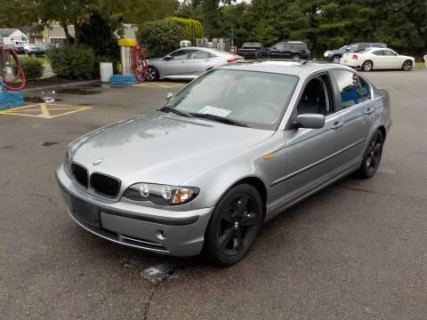2004 BMW 3 Series for sale at RTE 123 Village Auto Sales Inc. in Attleboro MA