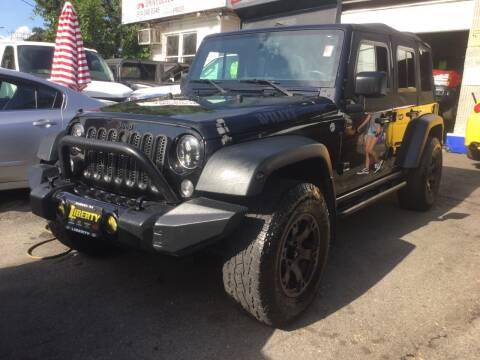 2015 Jeep Wrangler Unlimited for sale at Drive Deleon in Yonkers NY