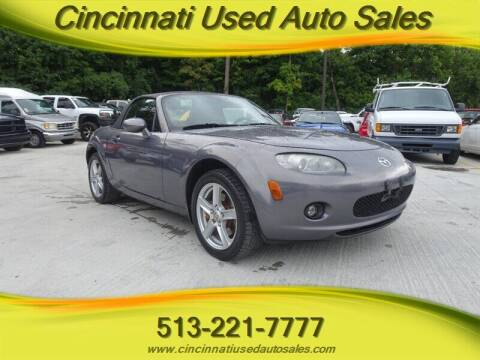 2006 Mazda MX-5 Miata for sale at Cincinnati Used Auto Sales in Cincinnati OH