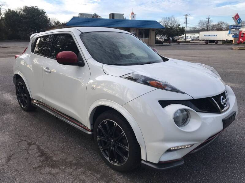 2013 Nissan JUKE for sale at Cherry Motors in Greenville SC