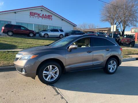 2013 Acura RDX for sale at Efkamp Auto Sales LLC in Des Moines IA