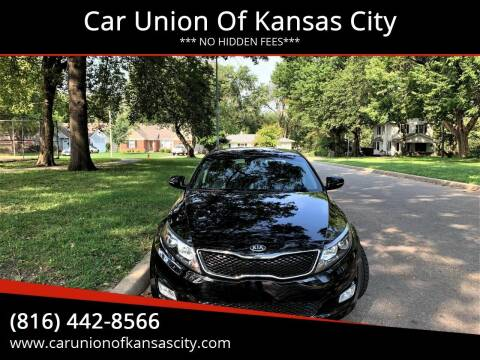 2015 Kia Optima for sale at Car Union Of Kansas City in Kansas City MO