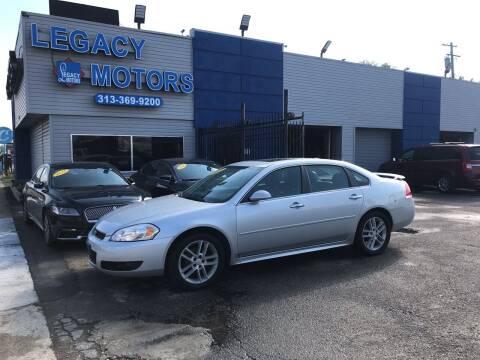 2012 Chevrolet Impala for sale at Legacy Motors in Detroit MI
