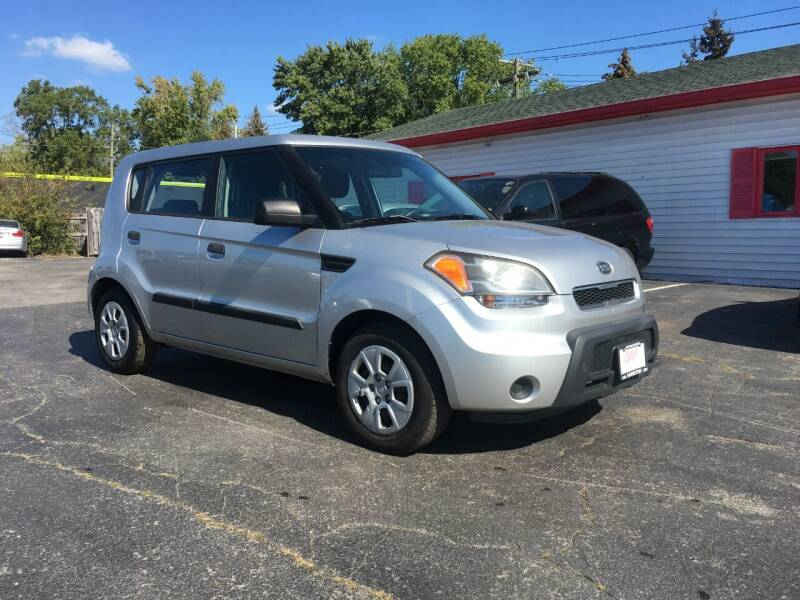 2010 Kia Soul for sale at A Class Auto Sales in Indianapolis IN