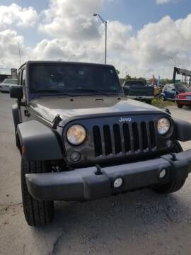 2016 Jeep Wrangler Unlimited for sale at Thoroughbred Motors in Sarasota FL