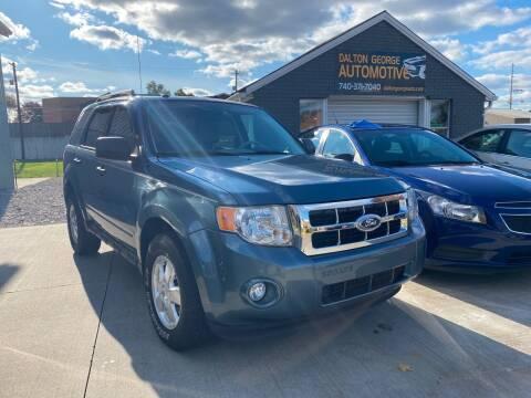 2010 Ford Escape for sale at Dalton George Automotive in Marietta OH