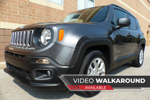 2018 Jeep Renegade for sale at Macomb Automotive Group in New Haven MI