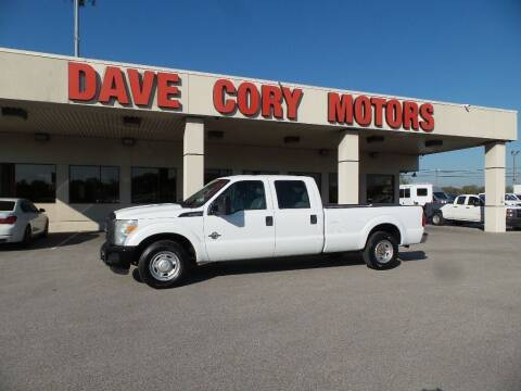 2015 Ford F-250 Super Duty for sale at DAVE CORY MOTORS in Houston TX