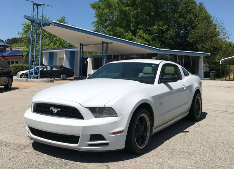 2014 Ford Mustang for sale at GR Motor Company in Garner NC