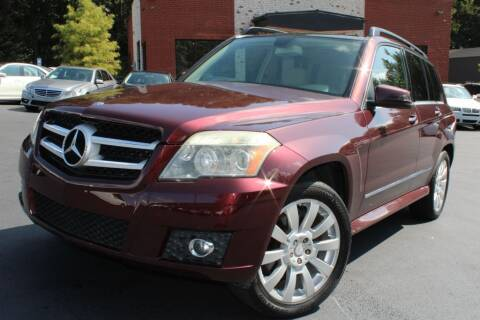 2010 Mercedes-Benz GLK for sale at Atlanta Unique Auto Sales in Norcross GA