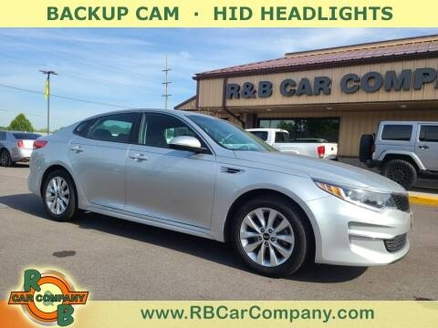 2017 Kia Optima for sale at R & B Car Company in South Bend IN