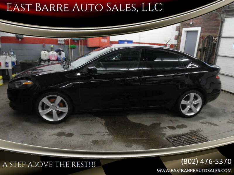 2015 Dodge Dart for sale at East Barre Auto Sales, LLC in East Barre VT
