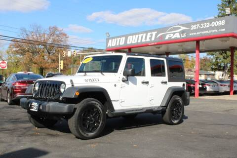 2015 Jeep Wrangler Unlimited for sale at Deals N Wheels 306 in Burlington NJ