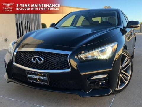 2015 Infiniti Q50 Hybrid for sale at European Motors Inc in Plano TX
