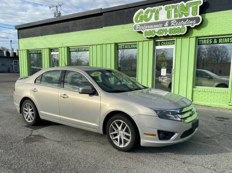 2010 Ford Fusion for sale at GOT TINT AUTOMOTIVE SUPERSTORE in Fort Wayne IN