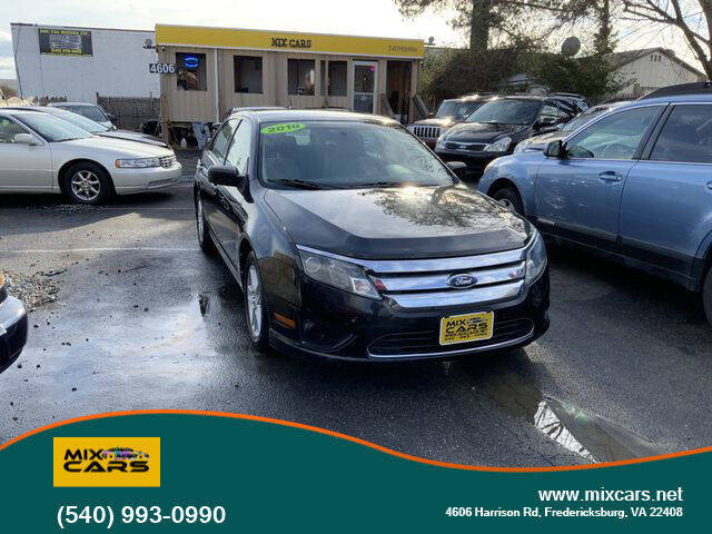 2012 Ford Fusion for sale at Mix Cars in Fredericksburg VA