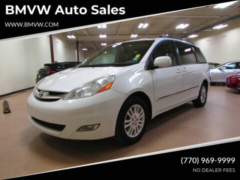 2008 Toyota Sienna for sale at BMVW Auto Sales in Union City GA