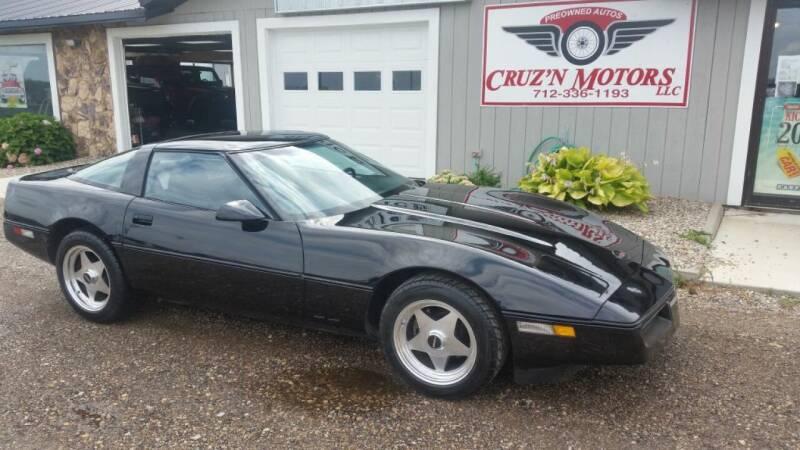 1984 Chevrolet Corvette for sale at CRUZ'N MOTORS - Classics in Spirit Lake IA
