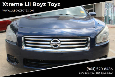 2014 Nissan Maxima for sale at Xtreme Lil Boyz Toyz in Greenville SC