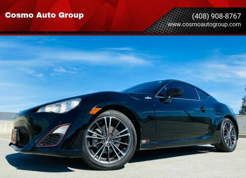 2013 Scion FR-S for sale at Cosmo Auto Group in San Jose CA