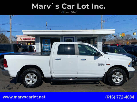 2016 RAM Ram Pickup 1500 for sale at Marv`s Car Lot Inc. in Zeeland MI