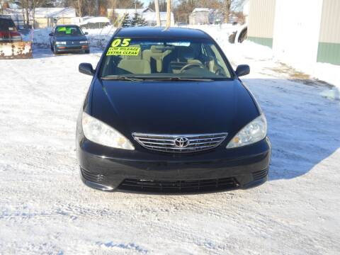 2005 Toyota Camry for sale at Shaw Motor Sales in Kalkaska MI