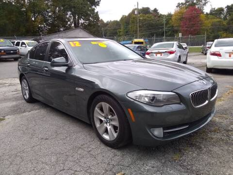 2012 BMW 5 Series for sale at Import Plus Auto Sales in Norcross GA