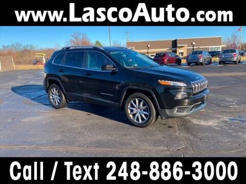 2018 Jeep Cherokee for sale at Lasco of Waterford in Waterford MI