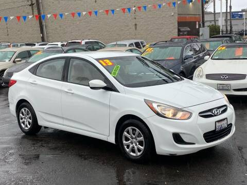 2013 Hyundai Accent for sale at North County Auto in Oceanside CA