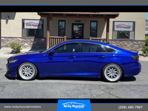 2018 Honda Accord for sale at Rocky Mountain Motors in Idaho Falls ID