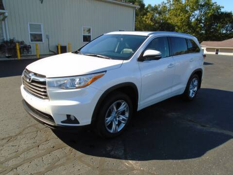 2015 Toyota Highlander for sale at Ritchie Auto Sales in Middlebury IN