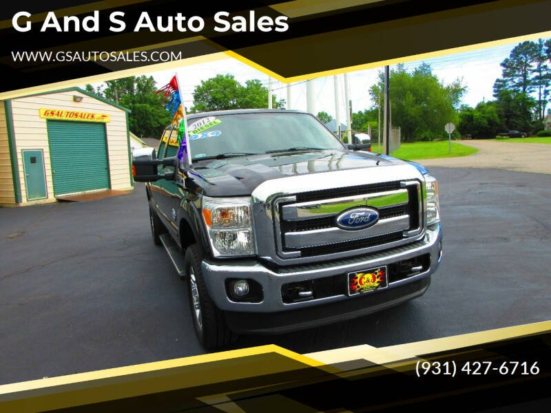 2012 Ford F-350 Super Duty for sale at G and S Auto Sales in Ardmore TN