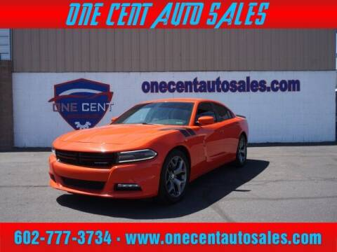 2017 Dodge Charger for sale at One Cent Auto Sales in Glendale AZ