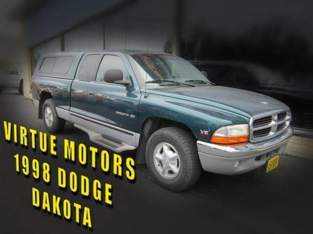 1998 Dodge Dakota for sale at Virtue Motors in Darlington WI