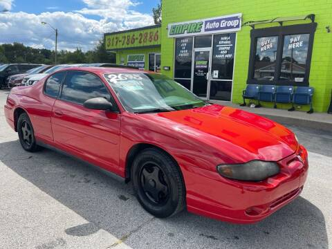 2004 Chevrolet Monte Carlo for sale at Empire Auto Group in Indianapolis IN