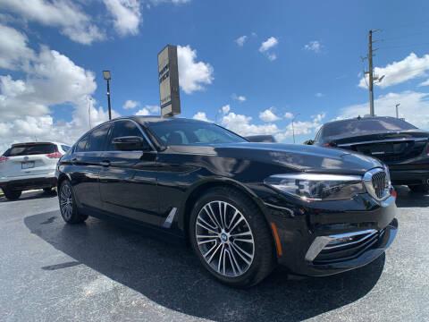 2018 BMW 5 Series for sale at Miami Vice Auto Sales in Miami FL