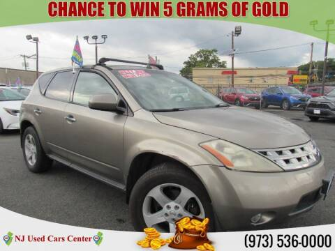 2004 Nissan Murano for sale at New Jersey Used Cars Center in Irvington NJ