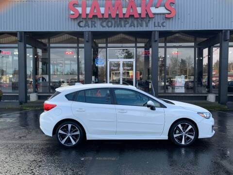 2018 Subaru Impreza for sale at Siamak's Car Company llc in Salem OR