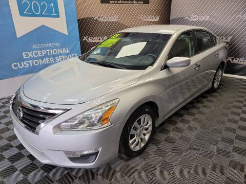 2015 Nissan Altima for sale at X Drive Auto Sales Inc. in Dearborn Heights MI