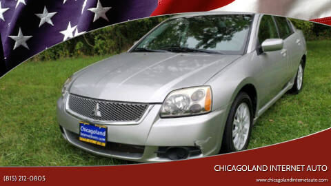 2012 Mitsubishi Galant for sale at Chicagoland Internet Auto - 410 N Vine St New Lenox IL, 60451 in New Lenox IL