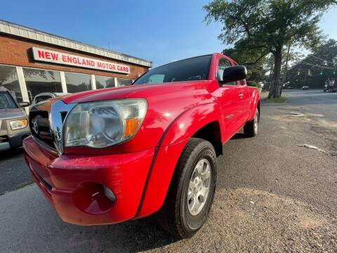 2005 Toyota Tacoma for sale at New England Motor Cars in Springfield MA