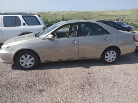 2003 Toyota Camry for sale at PYRAMID MOTORS - Pueblo Lot in Pueblo CO