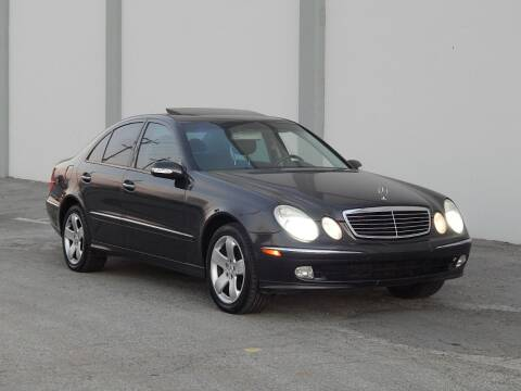 2004 Mercedes-Benz E-Class for sale at Gilroy Motorsports in Gilroy CA