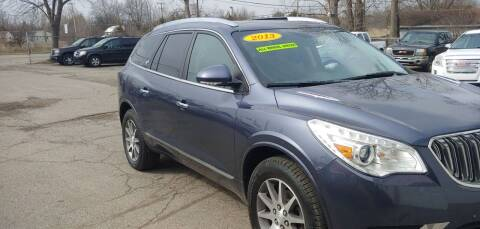 2013 Buick Enclave for sale at Superior Motors in Mount Morris MI