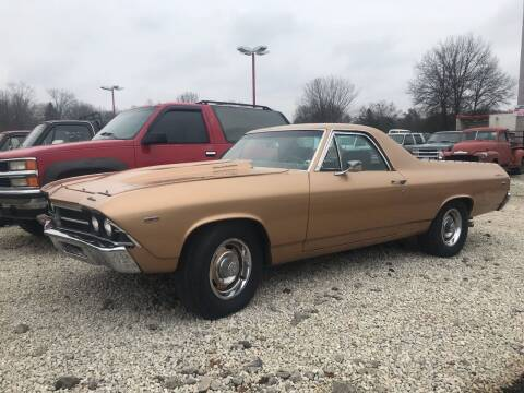 1969 Chevrolet El Camino for sale at FIREBALL MOTORS LLC in Lowellville OH
