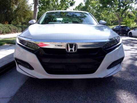 2018 Honda Accord for sale at Autobahn Auto Sales in Los Angeles CA