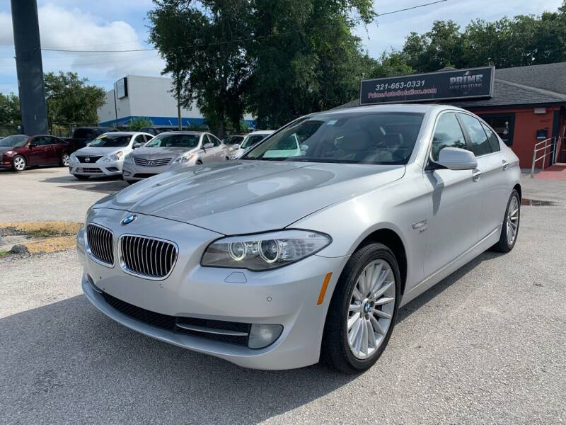 2011 BMW 5 Series for sale at Prime Auto Solutions in Orlando FL