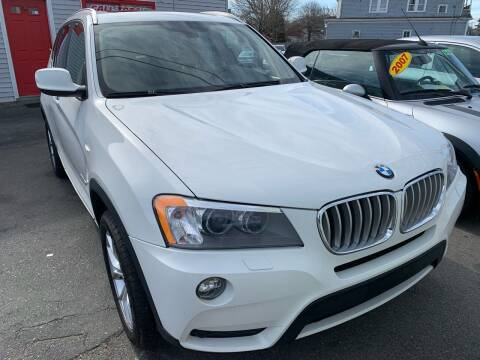 2014 BMW X3 for sale at Better Auto in South Darthmouth MA