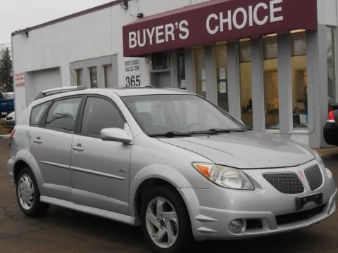 2007 Pontiac Vibe for sale at Buyers Choice Auto Sales in Bedford OH